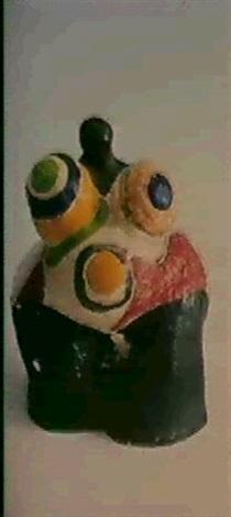 Niki de Saint Phalle-Femme aux formes genereuses-