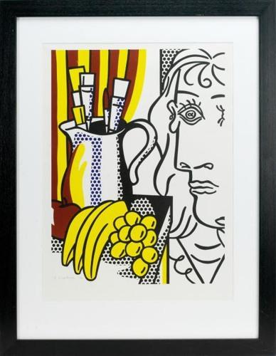 Roy Lichtenstein-Hommage a Picasso-