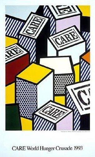 Roy Lichtenstein-Care World Hunger Crusade-1993