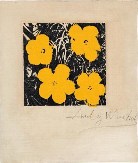 Andy Warhol-Flowers (Four Yellow)-1964
