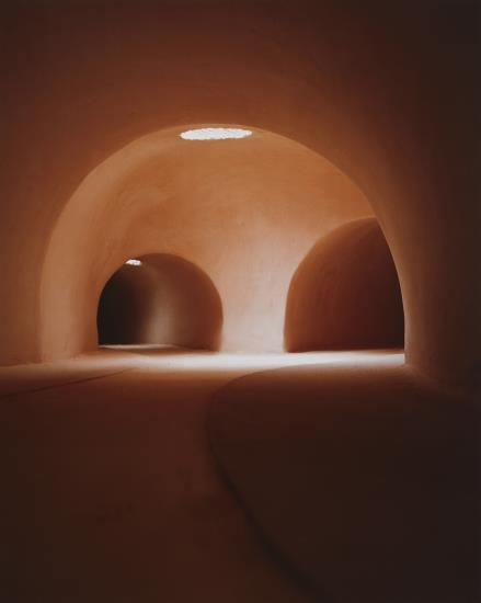 James Casebere-Two Tunnels from the Right (V)-1998