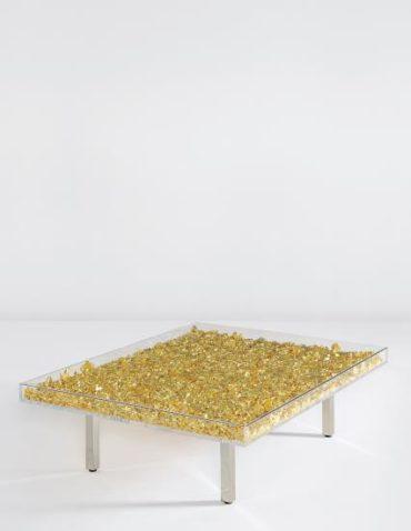 Yves Klein-Table Or-1963