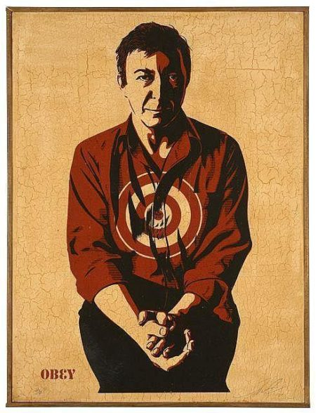 Shepard Fairey-Jasper Johns-2012
