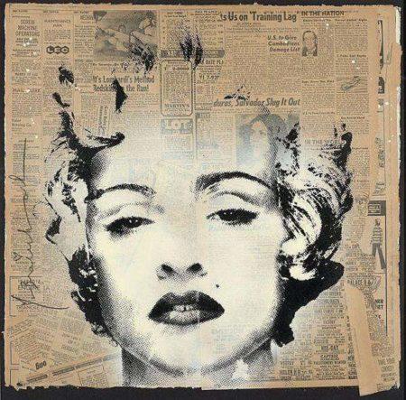 Mr. Brainwash-Madonna (Celebration)-2010