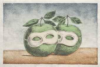 Rene Magritte-Le Pretre Marie, From Signe De Survie Au Temps D'Amour; La Folie Almayer-1968