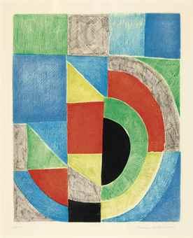 Sonia Delaunay-[Untitled]-1970