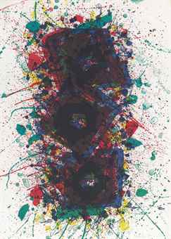Sam Francis-Untitled-1981