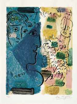 Marc Chagall-Affiche D'Exposition-1967