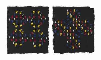 Counting: (Interlocking Squares)-1997