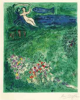 Charles Sorlier-After Charles Sorlier - Marc Chagall - The Orchard-1973