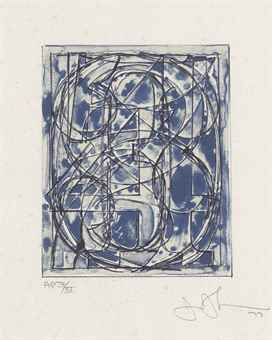 Jasper Johns-0 Through 9-1978