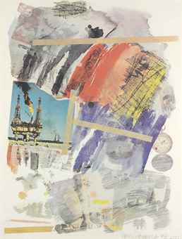 Robert Rauschenberg-Untitled, From Horchow Portfolio-1972