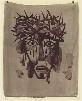 Otto Dix-Schweisstuch II-1950
