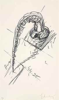 Claes Oldenburg-Arch In The Form Of A Screw-1976
