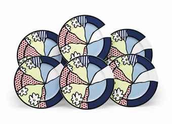 Roy Lichtenstein-Water Lilies-1990