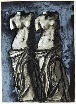 Jim Dine-Double Venus In The Sky At Night-1984