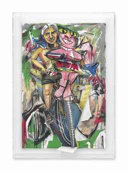 Red Grooms-De Kooning Breaks Through-1987