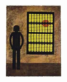Hombre En La Ventana-1980