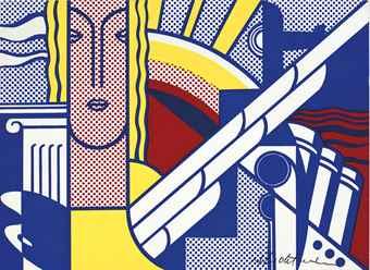 Roy Lichtenstein-Modern Art Poster-1967