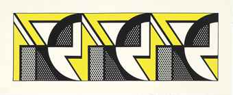 Roy Lichtenstein-Repeated Design-1969