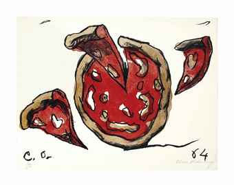 Claes Oldenburg-Flying Pizza-1964