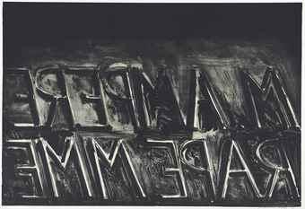 Bruce Nauman-M. Ampere-1973
