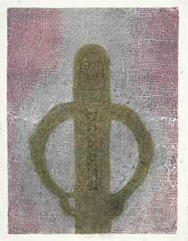 Rufino Tamayo-Personaje Con Red (Personage With Net)-1982
