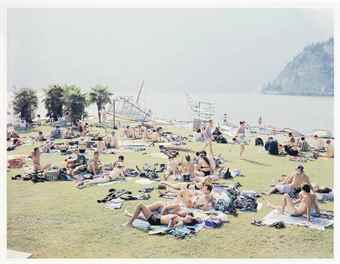 Massimo Vitali-Garda Look, From A Portfolio Of Landscapes And Figures-2006
