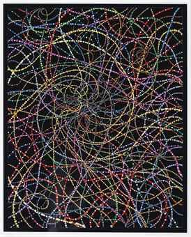 Fred Tomaselli-Metalectual X 80-2001