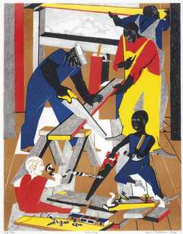 Jacob Lawrence-Workshop-1972