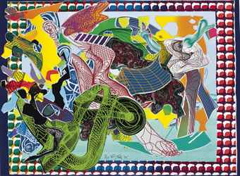 Frank Stella-West Euralia, From Imaginary Places-1995