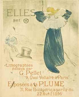 Henri de Toulouse-Lautrec-Affiche Pour Elles-1896
