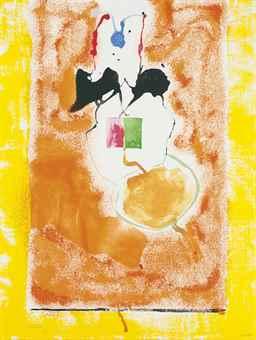 Helen Frankenthaler-Solar Imp-2001