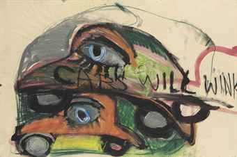 Jim Dine-Cars Will Wink-1960