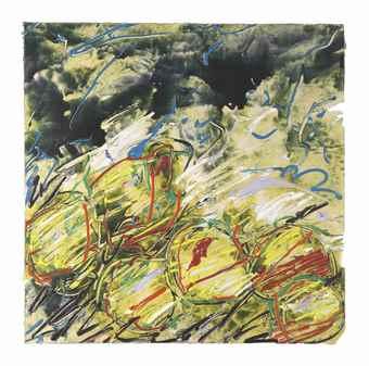 Mario Schifano-Frutta-1986