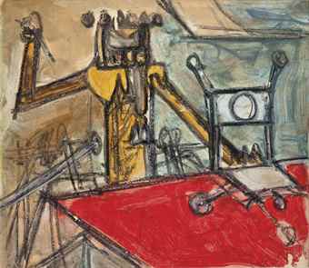 Roberto Matta-Untitled-1960
