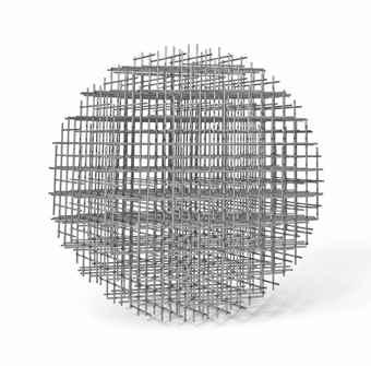 Francois Morellet-Sphere-Trame-1966