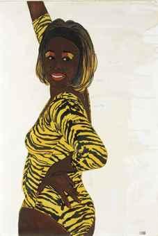 Mickalene Thomas-Quanikah #2-2004