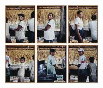 Sharon Lockhart-Manioc Production: Elenilde Correa, Elaine Correa, Neide Correa, Mariana Correa, Denize Correa, And Maria Correa. Santa Rita Community, River Aripuana, Brazil 1999-1999