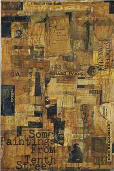 Joseph Kosuth-The Revolution Collage-1964