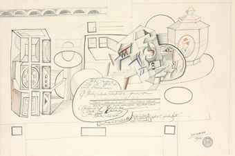 Saul Steinberg-Still Life With Rubber Stamp-1966