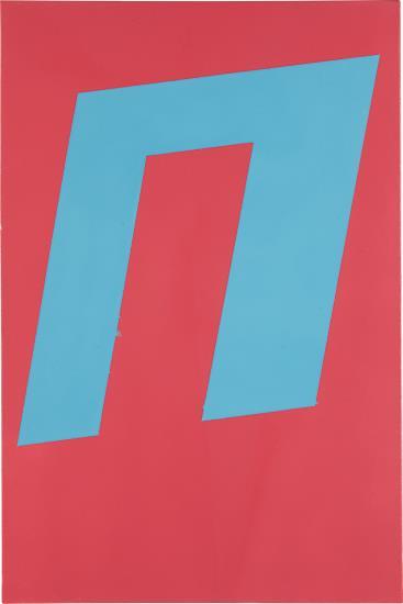 Davis Rhodes-Untitled (Pink) Painting-2007