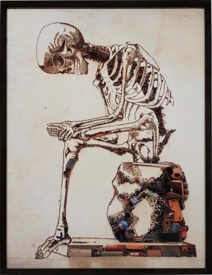 Vik Muniz-Anatomy, After Francesco Bertinatti (From Pictures Of Junk)-2009