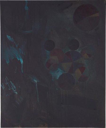 Charlie Hammond-Portrait Of The Bureaucrat (Lurking In Dark Paint)-2008