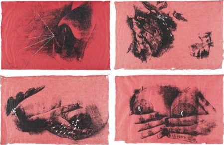 Kiki Smith-Untitled (Pink Bosoms)-1990