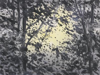 Alex Katz-Moonlight-1997