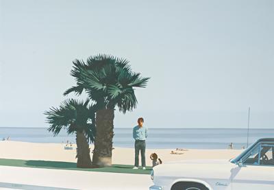 Paul Staiger-Charles Sitting ('66 Rambler)-1969