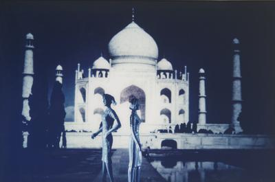 Laurie Simmons-Tourism: Taj Mahal (2Nd View)-1984