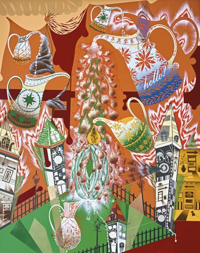 Lari Pittman-Ennobled And Needy-1992