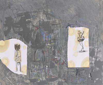 George Condo-Day Two-2001